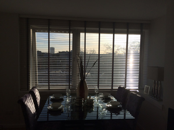 Blinds With Fabric Tape Chelsea