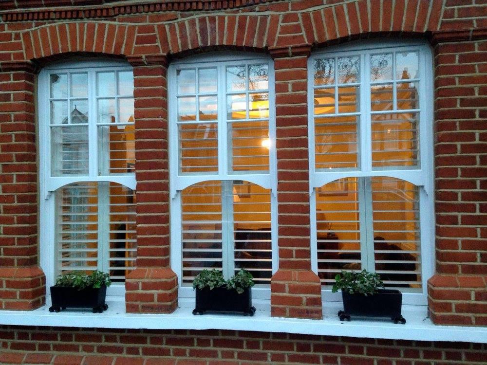 Plantation shutters in Finchley