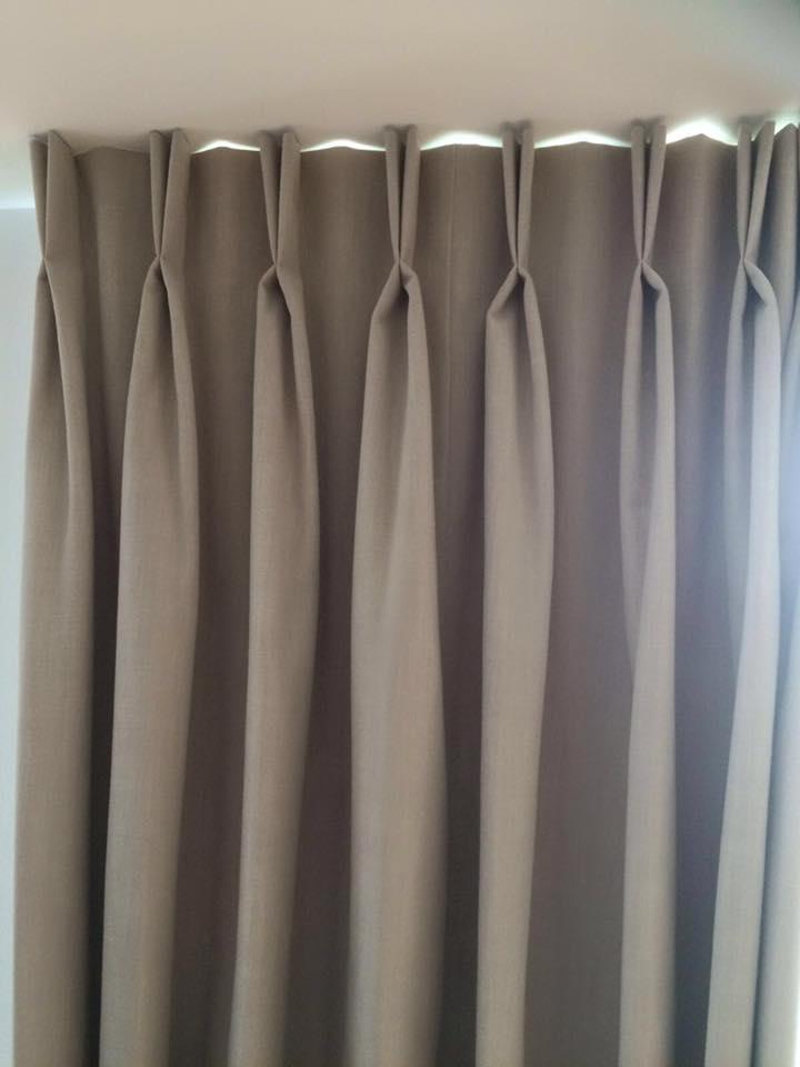 Twin Pleat Blackout Curtains Elizabeth Court Nw1