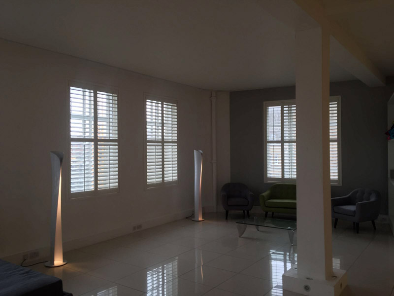 Plantation Shutters in Shoreditch