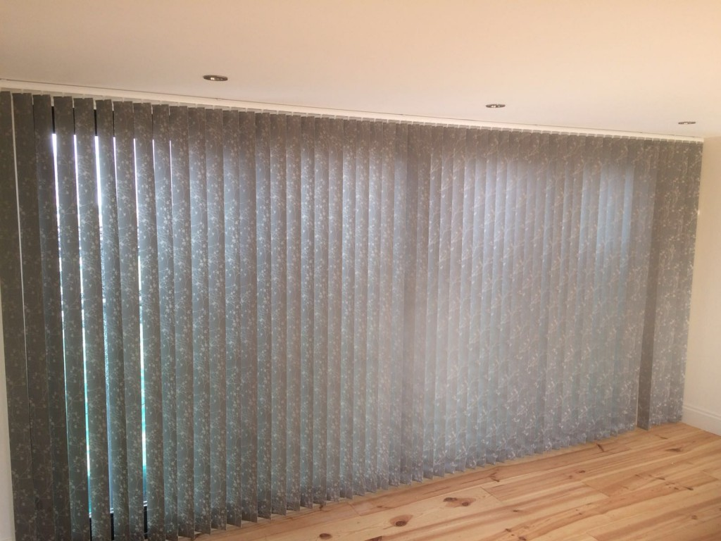 Vertical Blinds New Barnet Patterned Vertical Blinds