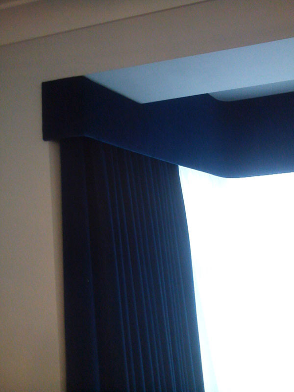 Upholstered Pelmet East London