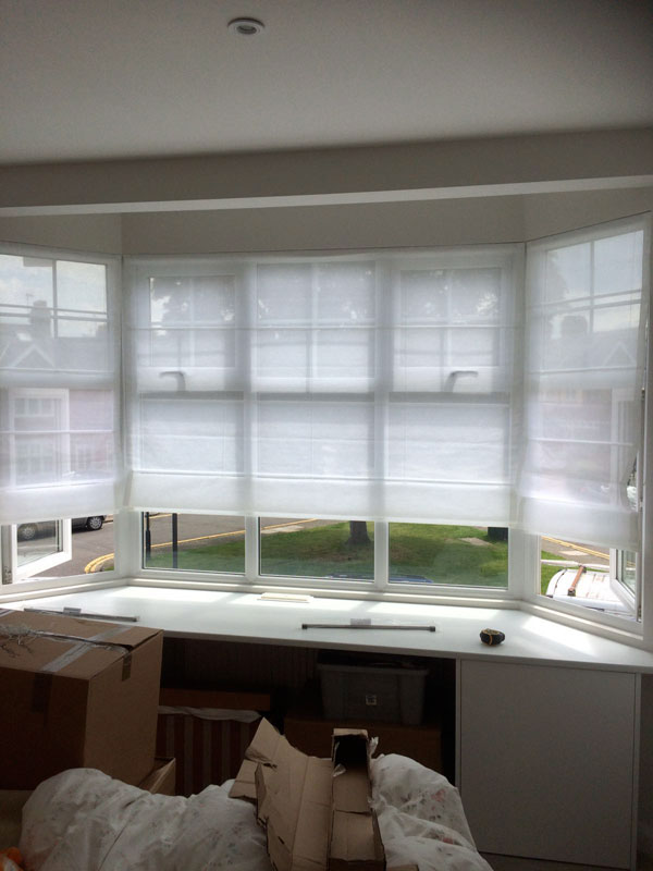 Roman Blinds for conservatory in Essex
