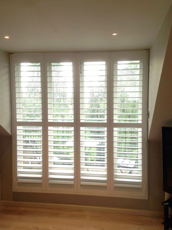 Hardwood Shutters in Watford