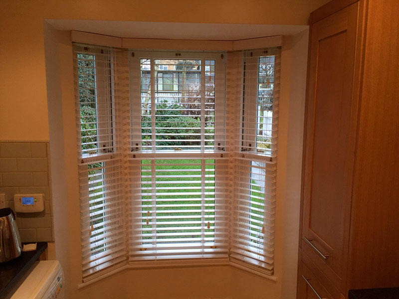 Wood Venetian Blinds Hadley Green - Barnet