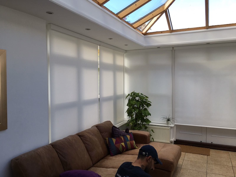 Motorised Conservatory Blinds - Epping
