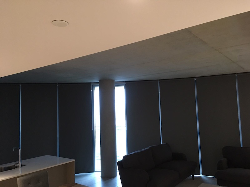 Blackout Penthouse Blinds - Docklands