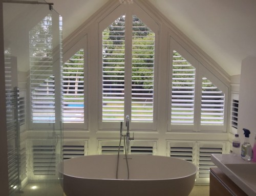 Shaped Shutters Upshire EN9