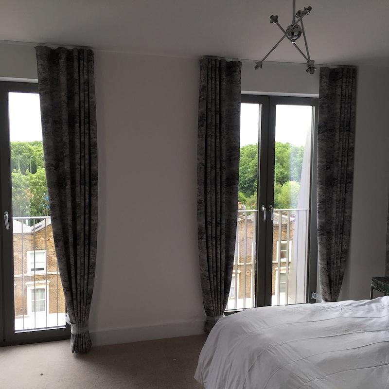 Curtains in Kilburn
