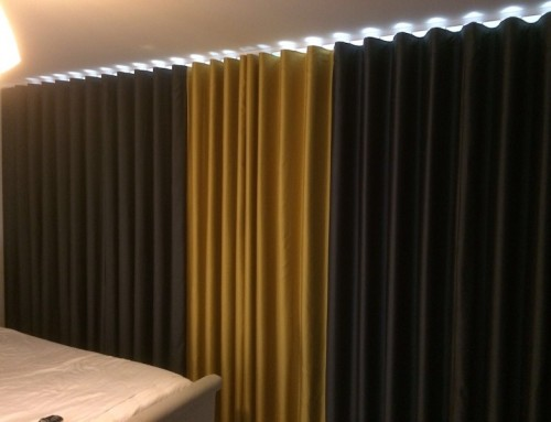 Contrasting Wave Curtains Harlow