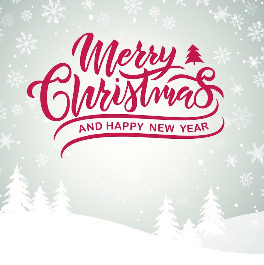 Merry Christmas & a Happy New Year