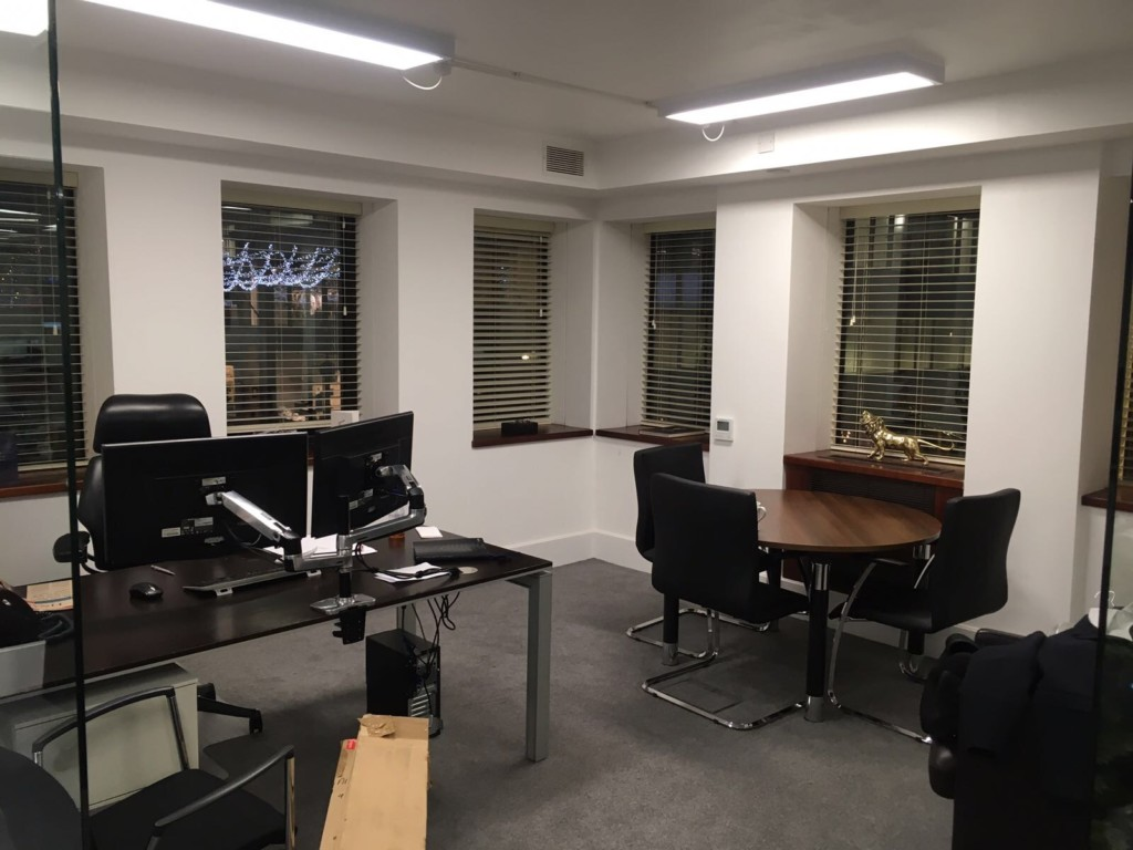 Venetian Office Blinds Mayfair
