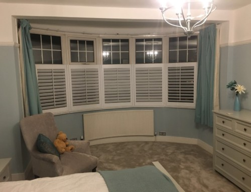 Bay Window Shutters London