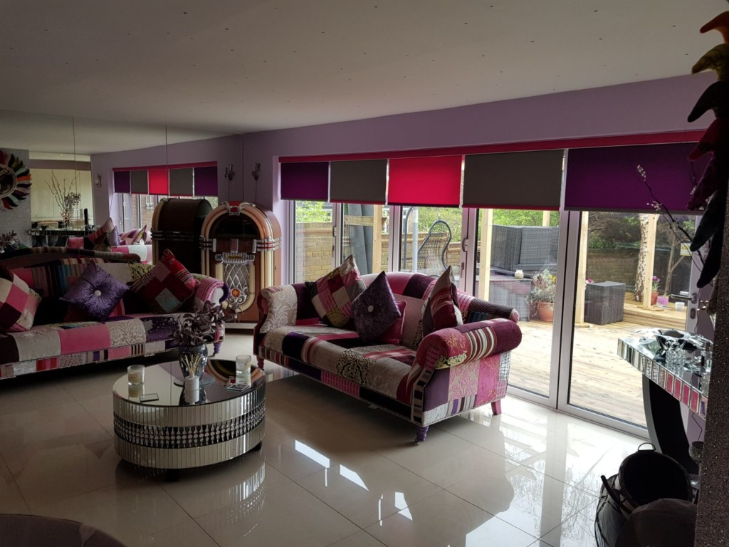 Multi Colour Roller Blinds