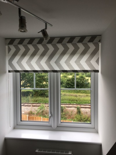 Cassette Roller Blinds and Roman Blinds in Coopersale, Essex.