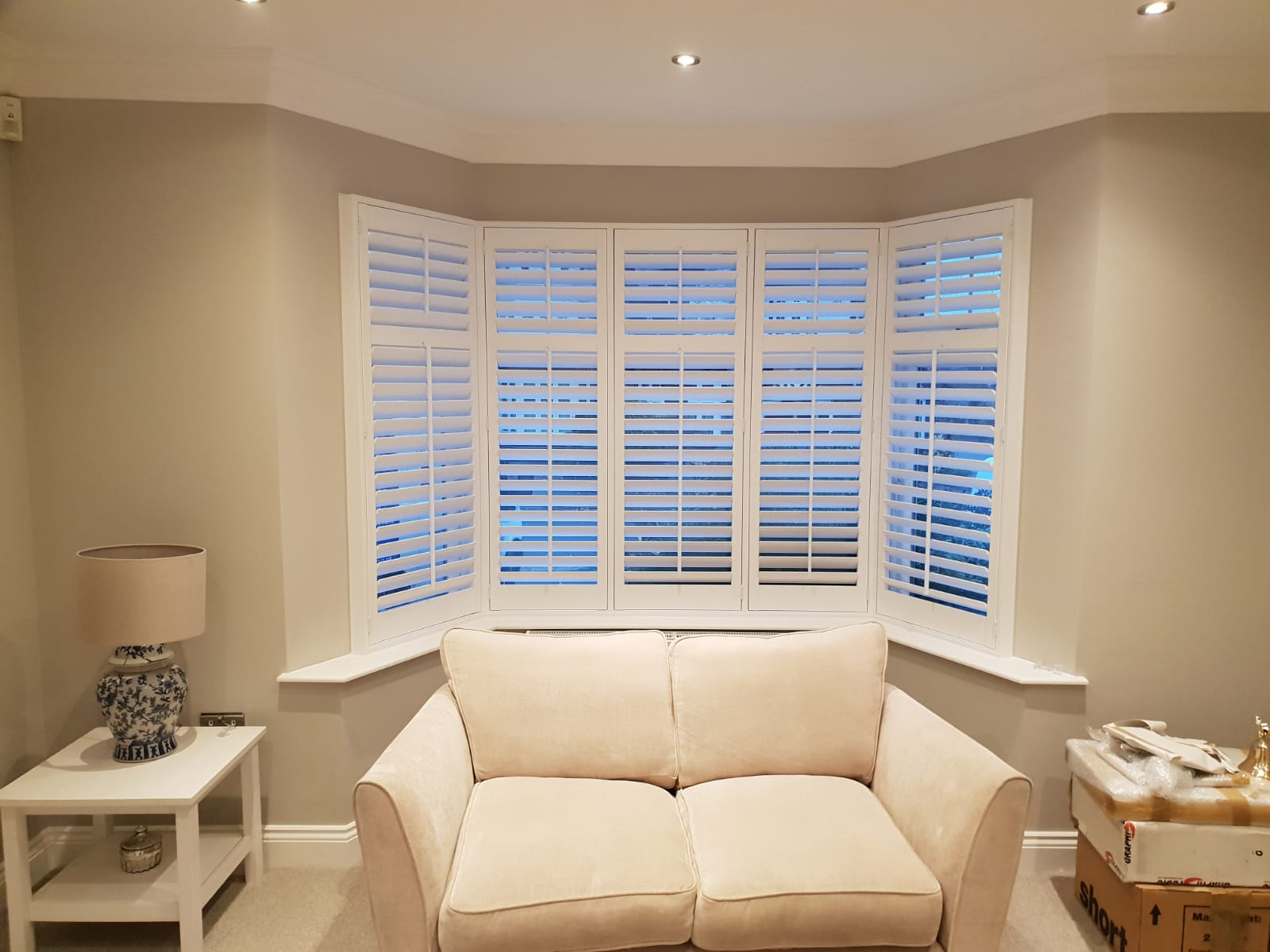 All Kinds of Blinds have just fitted these made to measure shutters to a property in Mill Hill, London. NW7