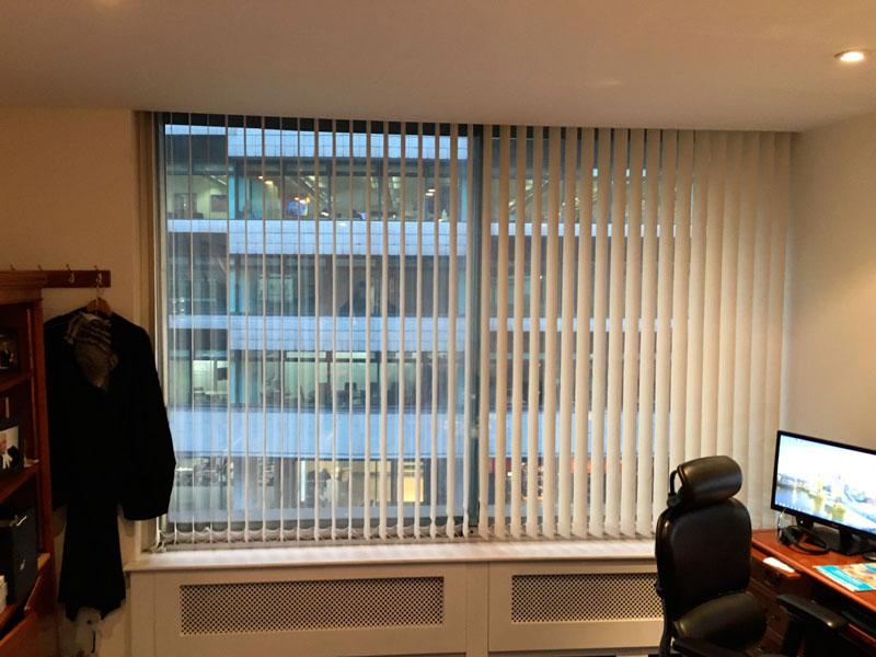 vertical office blinds