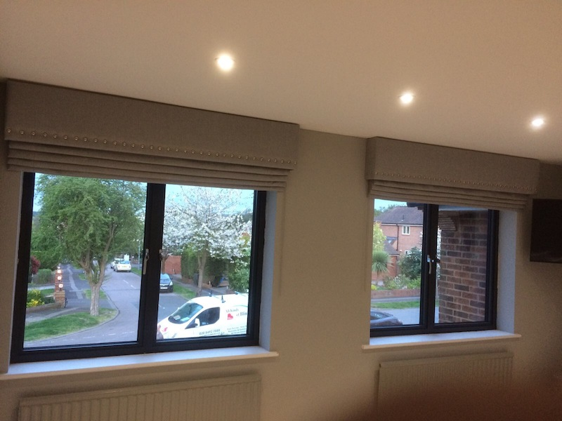 Roman Blinds - Loughton