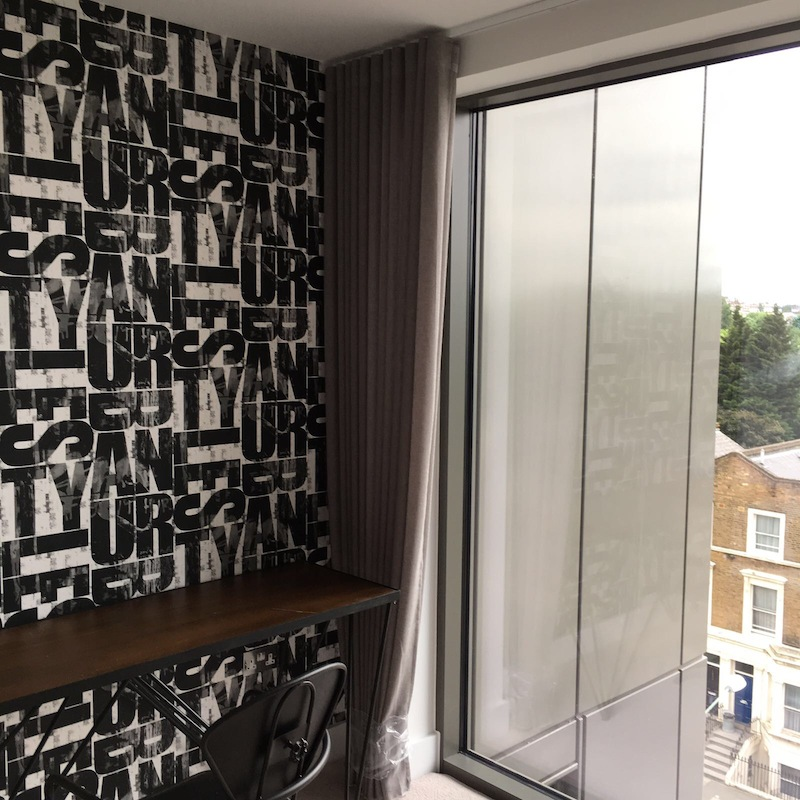 Curtains in Kilburn
