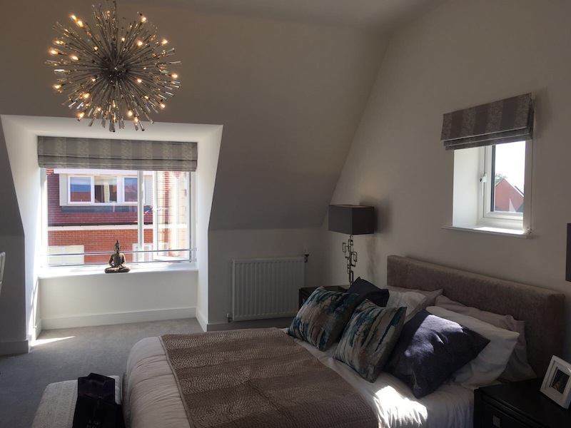 Bellway Showhomes - Blinds and Curtains