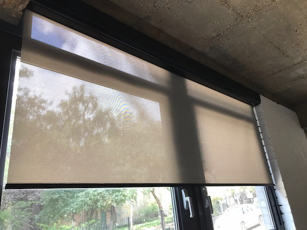 Hardwired Automatic Blinds London