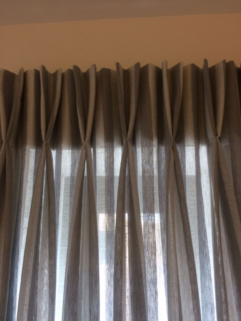 Twin Pleat Curtains Highgate NW6