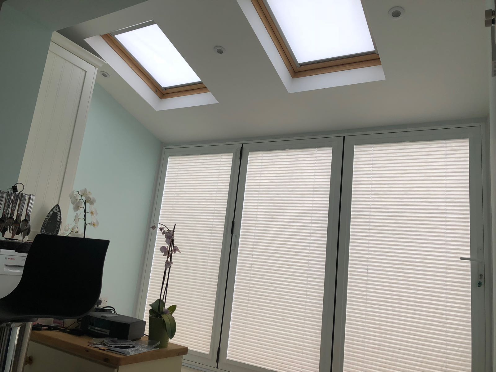 Pleated and Perfect Fit Blinds Shepperton