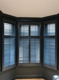Perfect Fit Blinds & Rollers Custom Colours. just installed by our fitters in London.