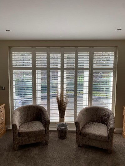 All Kinds of Blinds have just installed these Shutters in Chislehurst, Bromley.