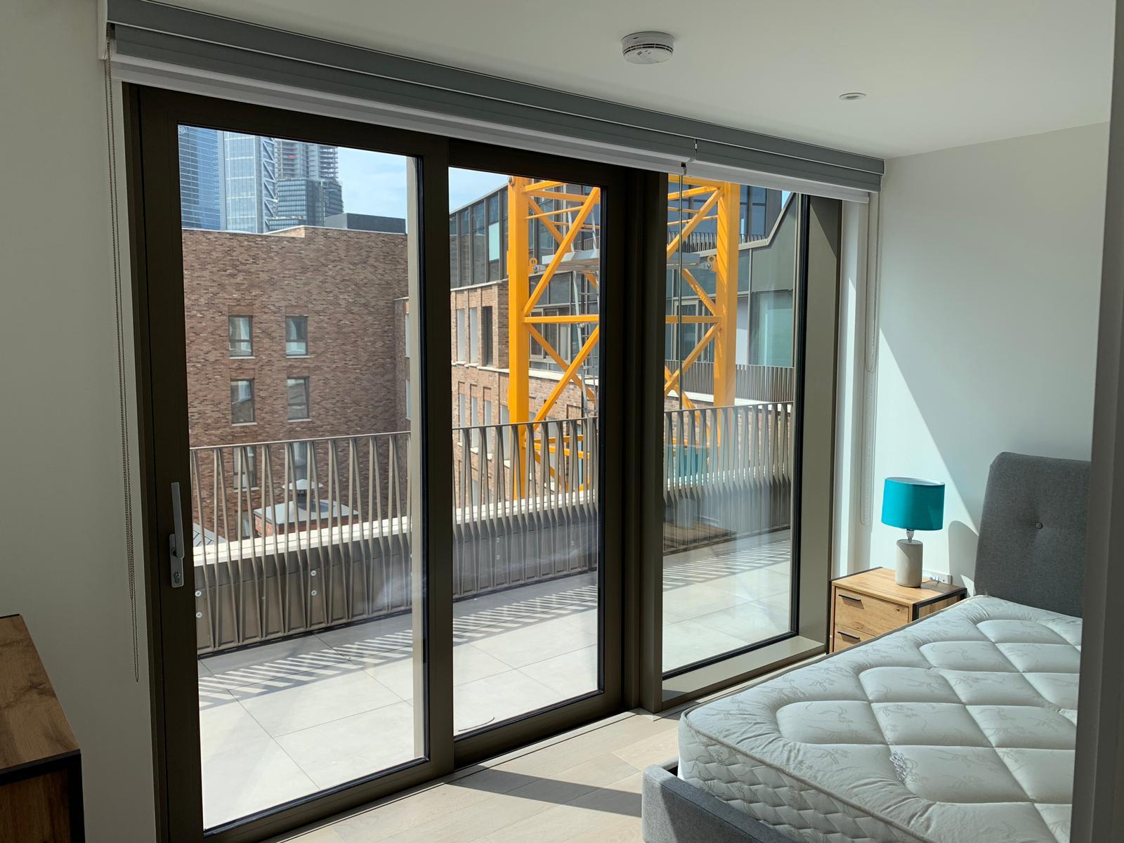 Double cassette roller blinds east london