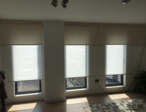 Electric Double Roller Blinds Stratford
