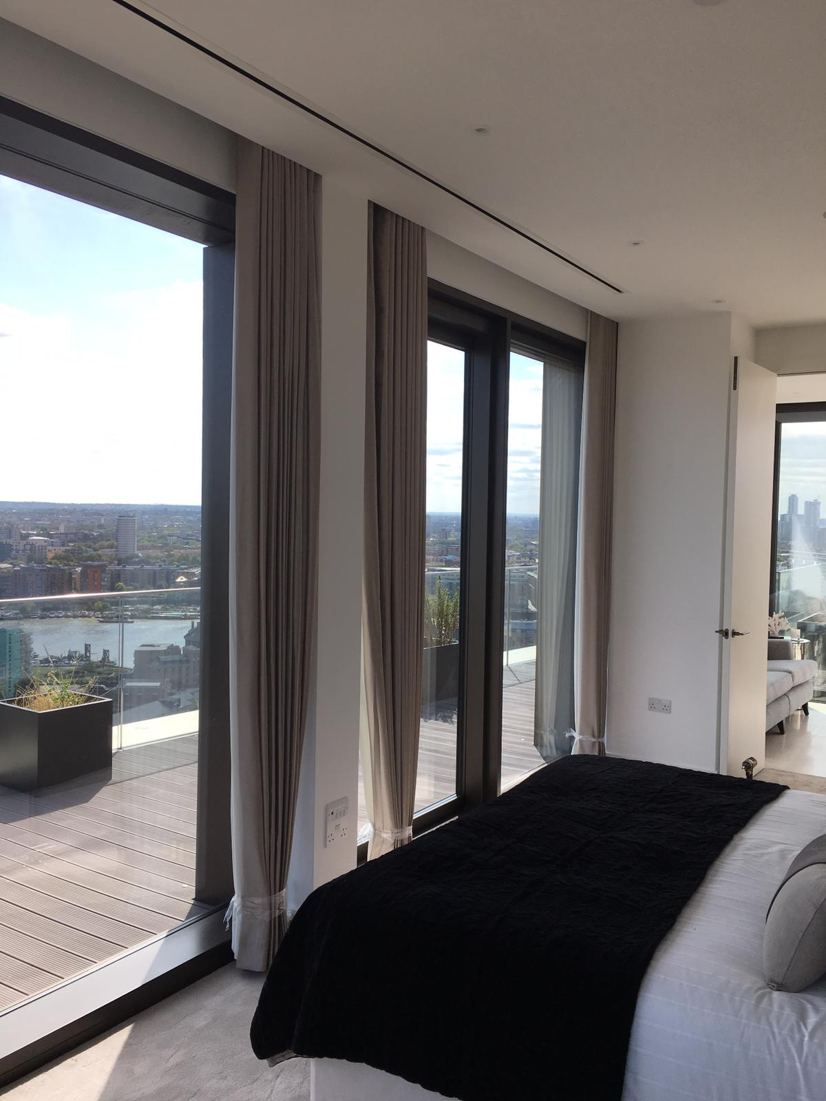 London Docks Penthouse Curtains