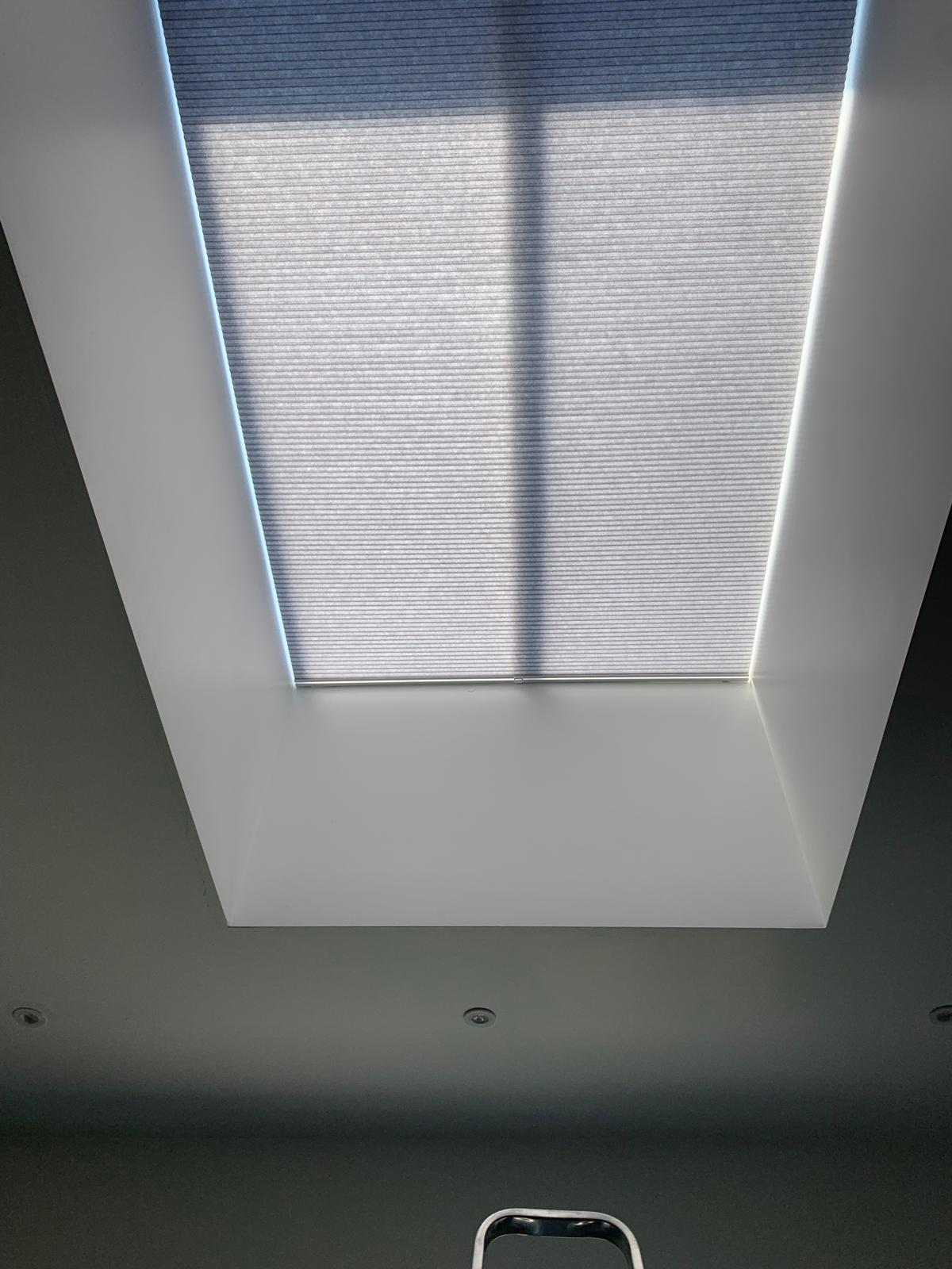 Pleated Roof Blinds London